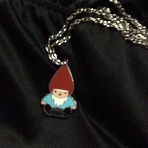 Adorable gnome charm